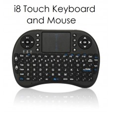 i8 Wireless Keyboard / Mouse Remote with Backlight